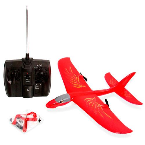 Avión RC de 2 motores Red Falcon