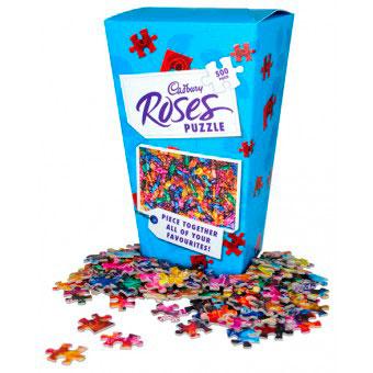 Puzzle de 500 piezas Cadbury's Roses