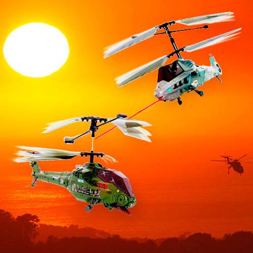 Helicópteros RC de combate 2 uds.