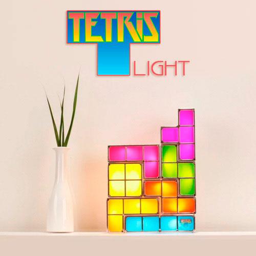 Lámpara Tetris de mesa