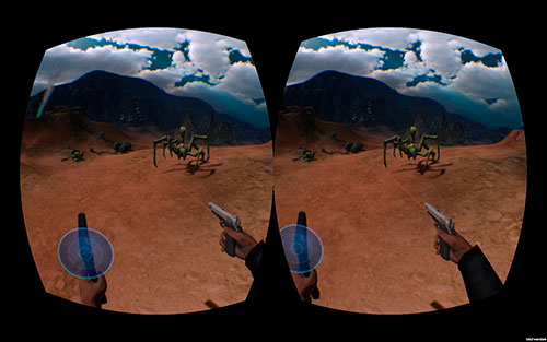 Pantalla OLED de Oculus