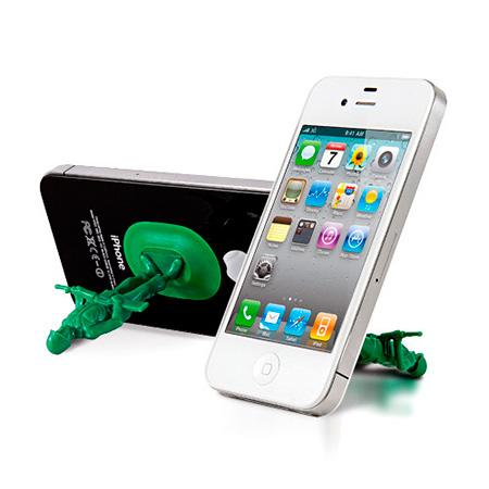 Gadgets de lectura - Soporte Soldados de Juguete para móviles