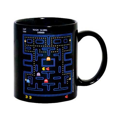 Taza Pac-Man sensible al calor
