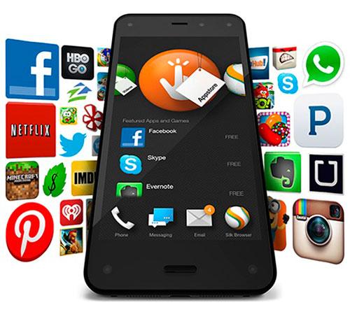 Fire Phone - más de 240.000 apps
