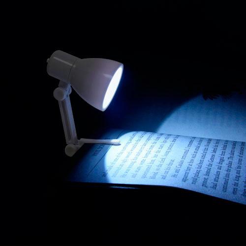 Mini lámpara LED de lectura para escritorio y libros