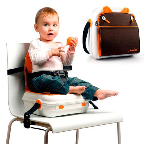 Trona maleta portátil para bebés Booster
