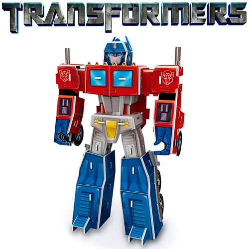 Puzzle 3D Optimus Prime