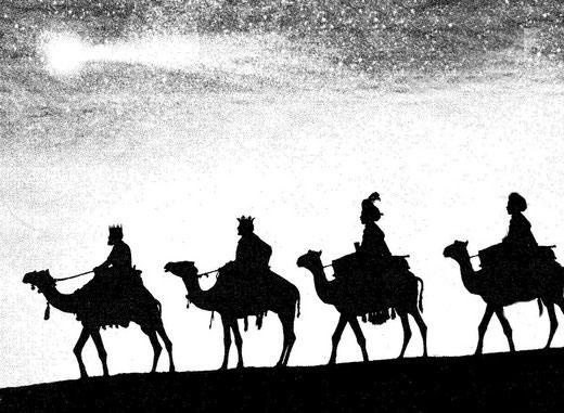 La leyenda de los 4 Reyes Magos