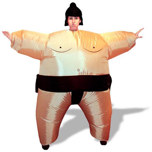 Disfraz de sumo inflable