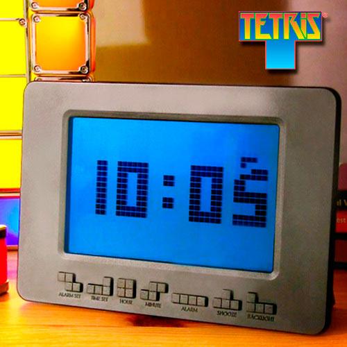 Reloj despertador Tetris