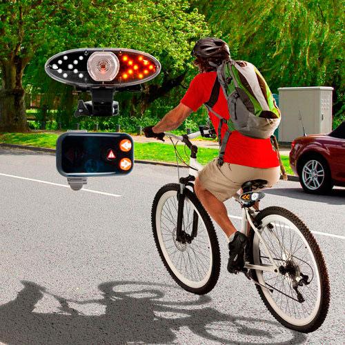 Luces inalámbricas de señalización para bicicletas