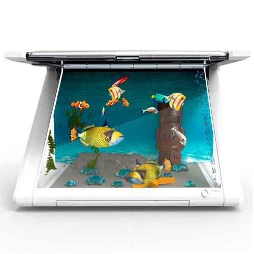 Acuario interactivo para iPad