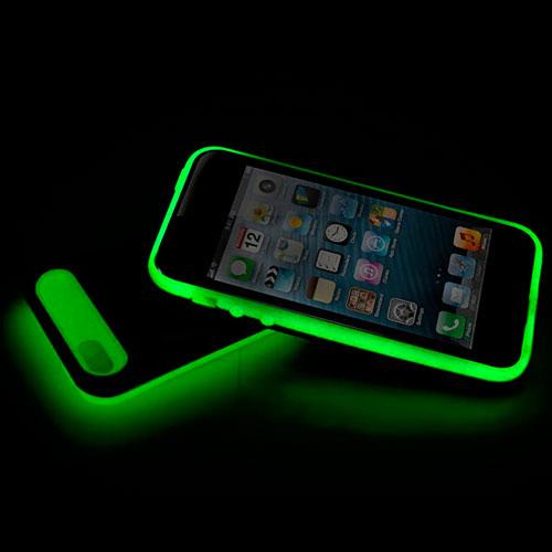 Funda iPhone 5 que brilla en la oscuridad