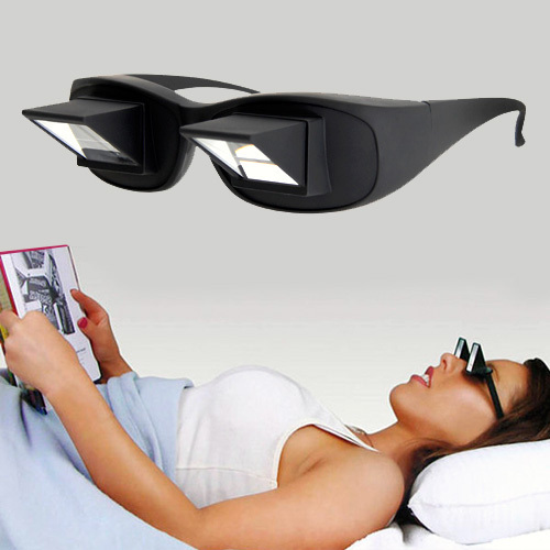Gafas de 90º para leer tumbado