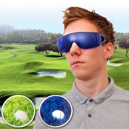 Gafas localizadoras de pelotas de golf