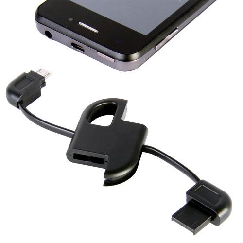 Llavero cable micro USB