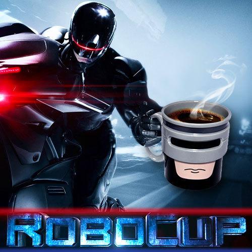 Taza de desayuno Robocop