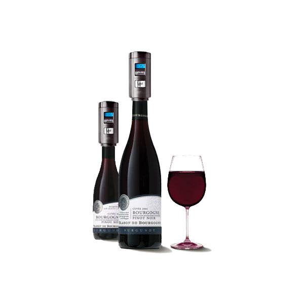 Conservador de vino automático y medidor de temperatura