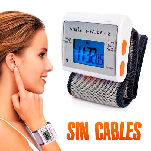 Despertador silencioso con vibrador Shake n' Wake