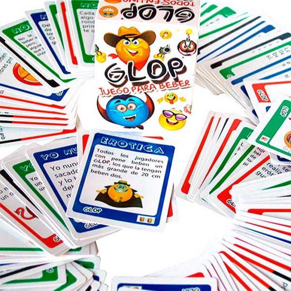 Juego para beber Glop Básico 100 cartas