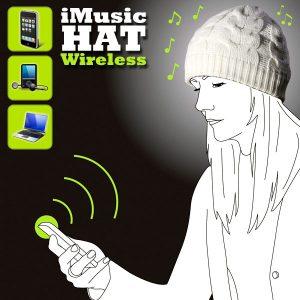 Gorro con auriculares inalámbricos iMusic Wireless