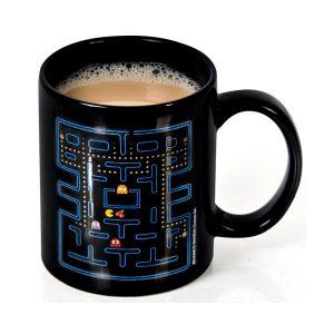 Taza de desayuno Pac-Man sensible al calor