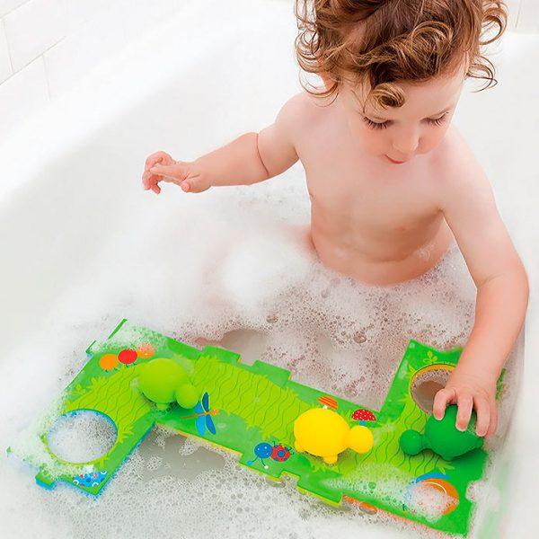 Juguete de baño Isla de Tortugas para bebés