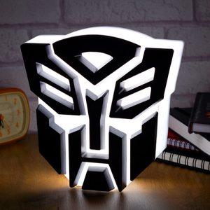 Lámpara Transformers Autobots USB