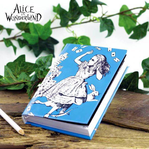 Libreta original Alicia en el País de las Maravillas