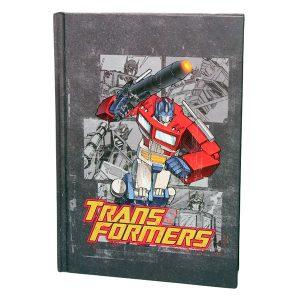 Libreta original Transformers Optimus Prime