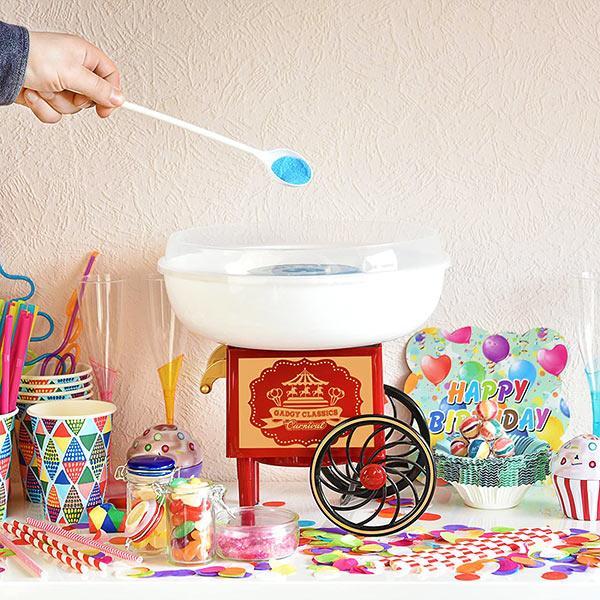 f834e56fd15b9 Máquina de hacer algodón de azúcar retro