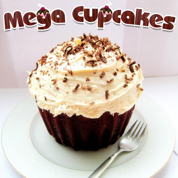 Molde XXL para cupcakes gigantes (25 veces más grandes)