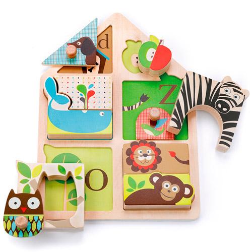 Puzzle infantil Alfabeto Animal