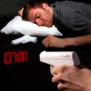 Despertador silencioso vibrador Pistola Secret Agent