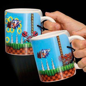 Taza de desayuno animada Sonic the Hedgehog
