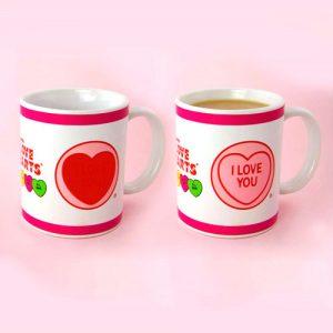 Taza de desayuno I Love You sensible al calor
