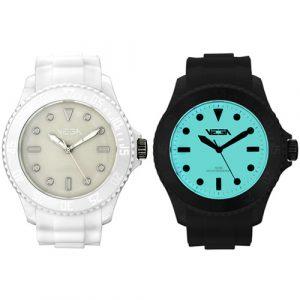 Reloj especial Vega Watch iluminación Neoluxs blanco