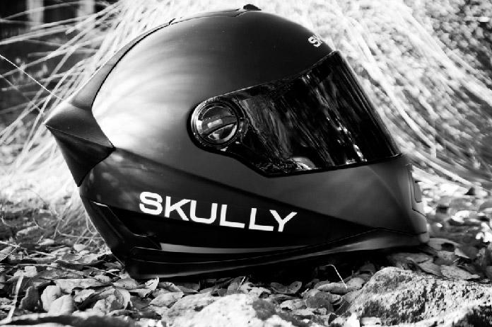 casco Skully negro