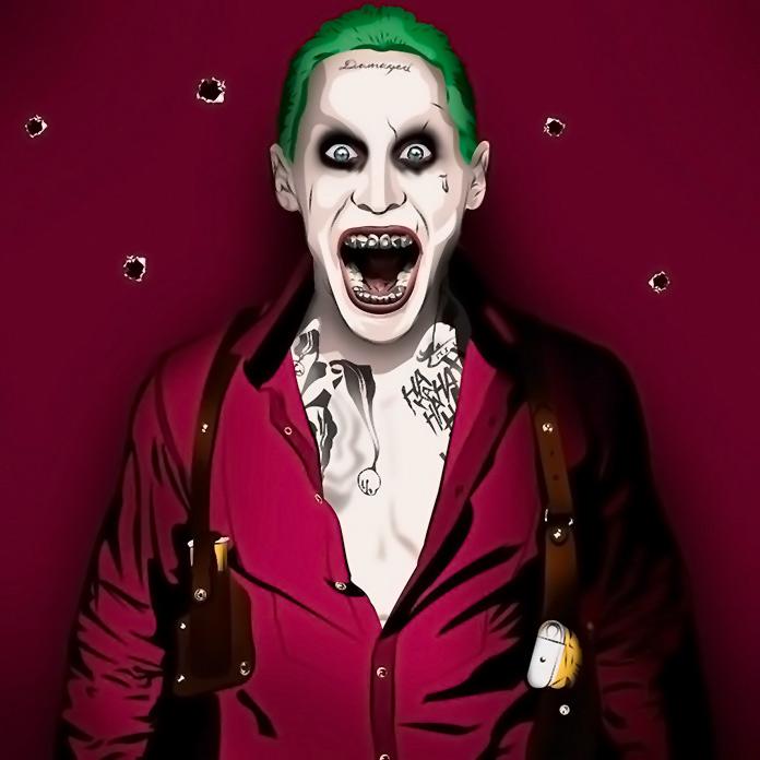 disfraz de Joker de Jared Leto