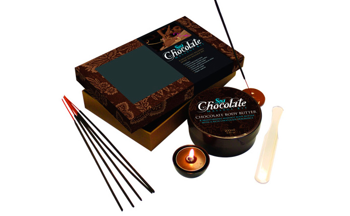 kit de chocolaterapia