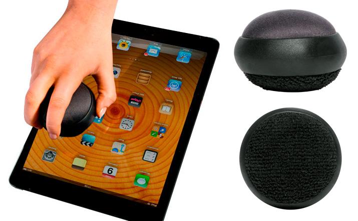 Limpiador doble para móvil y tablet