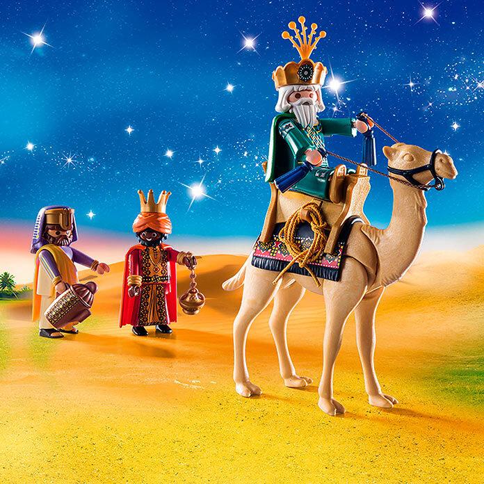 Los Reyes Magos de Playmobil